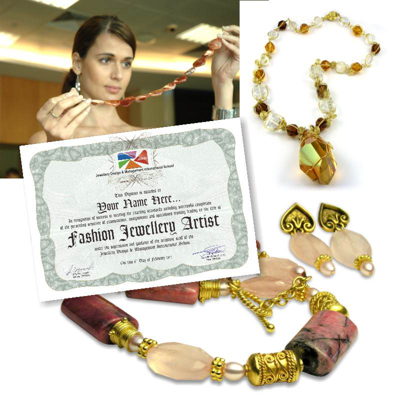 Diploma in Fashion Jewellery Arts