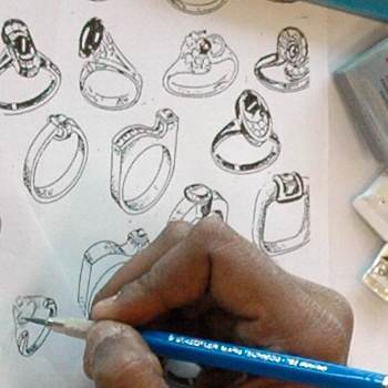 Jewellery Design 1:Creative & Technical Drawing