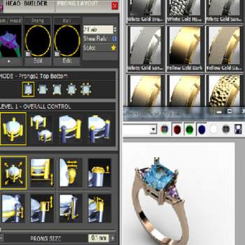 Digital Jewellery Design 1:Modelling and Rendering