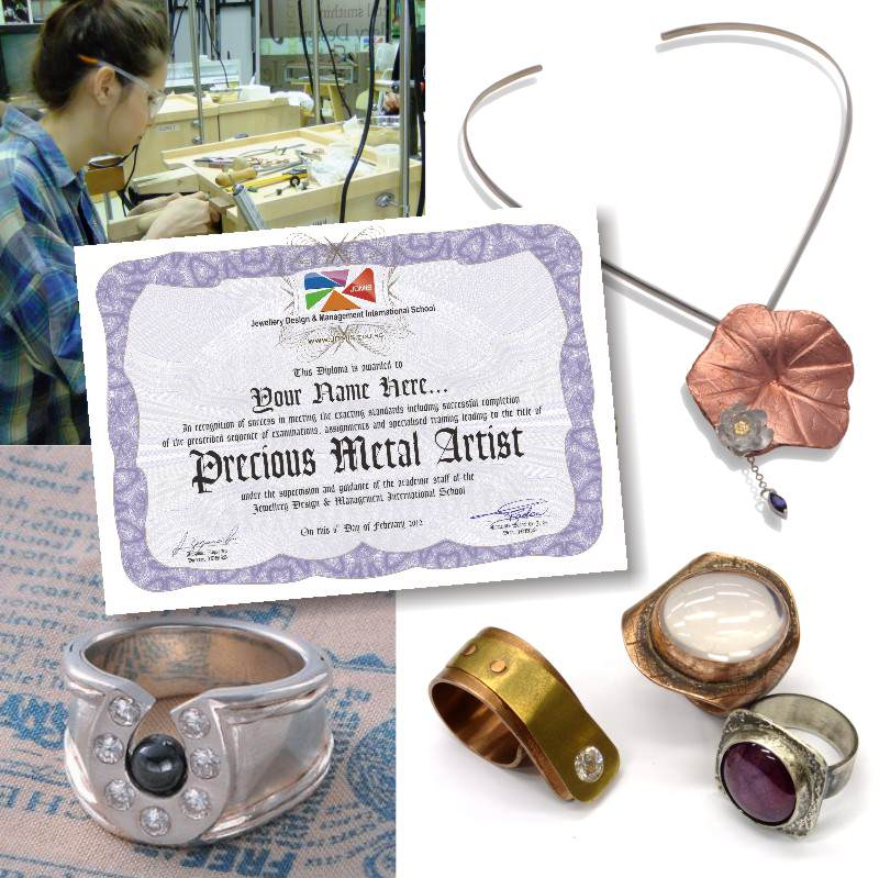 Diploma in Precious Metal Art
